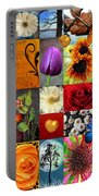 Collage Of Happiness  Portable Battery Charger