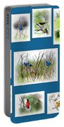 Collage Of Dauphin Island 22 Portable Battery Charger