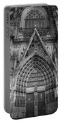 Cologne Cathedral 11 Bw Portable Battery Charger