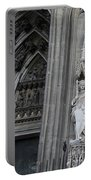 Cologne Cathedral South Side Detail 1 Portable Battery Charger