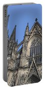 Cologne Cathedral South Side Rooflines Portable Battery Charger