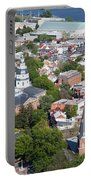 Colonial Annapolis Historic District And Maryland State House Portable Battery Charger