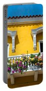 Colonial Balcony In Cartagena Portable Battery Charger