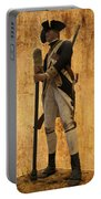 Colonial Soldier Portable Battery Charger by Thomas Woolworth