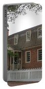 Colonial Williamsburg Scene Portable Battery Charger