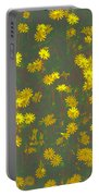 Color Flower Wall Portable Battery Charger