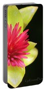 Flower - Delicate As Life Portable Battery Charger