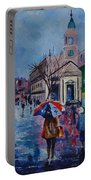 Color In The Rain Portable Battery Charger