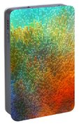 Color Infinity - Abstract Art By Sharon Cummings Portable Battery Charger