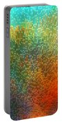 Color Infinity - Abstract Art By Sharon Cummings Portable Battery Charger by Sharon Cummings