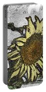 Color Me Sunflower Portable Battery Charger