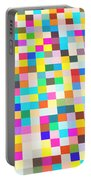 Color Quilt Portable Battery Charger