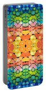 Color Revival - Abstract Art By Sharon Cummings Portable Battery Charger