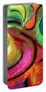 Color Swirl Portable Battery Charger