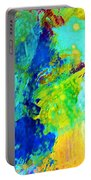 Color Wash Abstract Portable Battery Charger