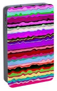 Color Waves No. 6 Portable Battery Charger