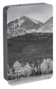 Colorado America's Playground In Black And White Portable Battery Charger