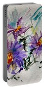 Colorado Asters Portable Battery Charger