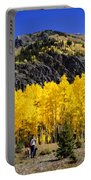Colorado Autumn Hike Portable Battery Charger