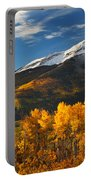 Colorado Gold Portable Battery Charger by Darren  White