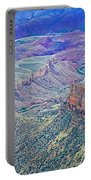 Colorado River From Walhalla Overlook On North Rim Of Grand Canyon-arizona Portable Battery Charger