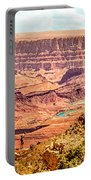 Colorado River One Mile Below And 18 Miles Across The Grand Canyon  Portable Battery Charger