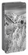 Colorado Rocky Mountain Autumn Beauty Bw Portable Battery Charger
