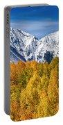 Colorado Rocky Mountain Autumn Magic Portable Battery Charger