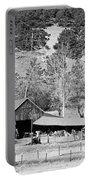 Colorado Rocky Mountain Barn Bw Portable Battery Charger