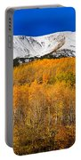 Colorado Rocky Mountain Independence Pass Autumn Pano 2 Portable Battery Charger