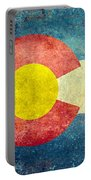 Colorado State Flag Portable Battery Charger
