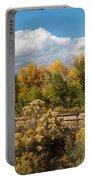 Colorado Urban Autumn Landscape Portable Battery Charger