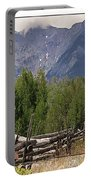 Colorado Wilson Peak Clouds Portable Battery Charger