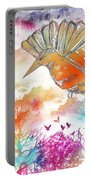 Colored Bird Portable Battery Charger