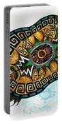 Colored Cultural Zoo C Eastern Woodlands Tortoise Portable Battery Charger