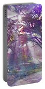 Colored Forest Portable Battery Charger