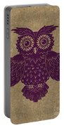 Colored Owl 1 Of 4  Portable Battery Charger