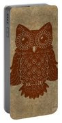 Colored Owl 2 Of 4  Portable Battery Charger