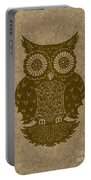 Colored Owl 3 Of 4  Portable Battery Charger