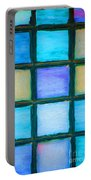 Colored Window Panes Portable Battery Charger