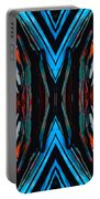 Colorful Abstract Art - Expanding Energy - By Sharon Cummings Portable Battery Charger