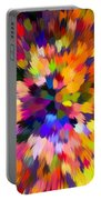 Colorful Abstract Background Portable Battery Charger