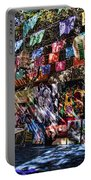 Colorful Art Store In Mexico Portable Battery Charger