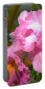 Colorful Assorted Cattleya Orchids Portable Battery Charger