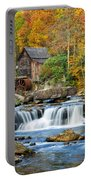 Colorful Autumn Grist Mill Portable Battery Charger