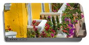 Colorful Balconies Portable Battery Charger