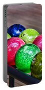 Colorful Bowling Balls Portable Battery Charger