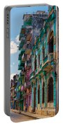 Colorful Buildings In Havana Portable Battery Charger