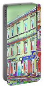 Colorful Buildings Portable Battery Charger