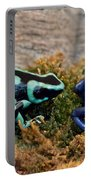 Colorful But Deadly Poison Dart Frogs Portable Battery Charger